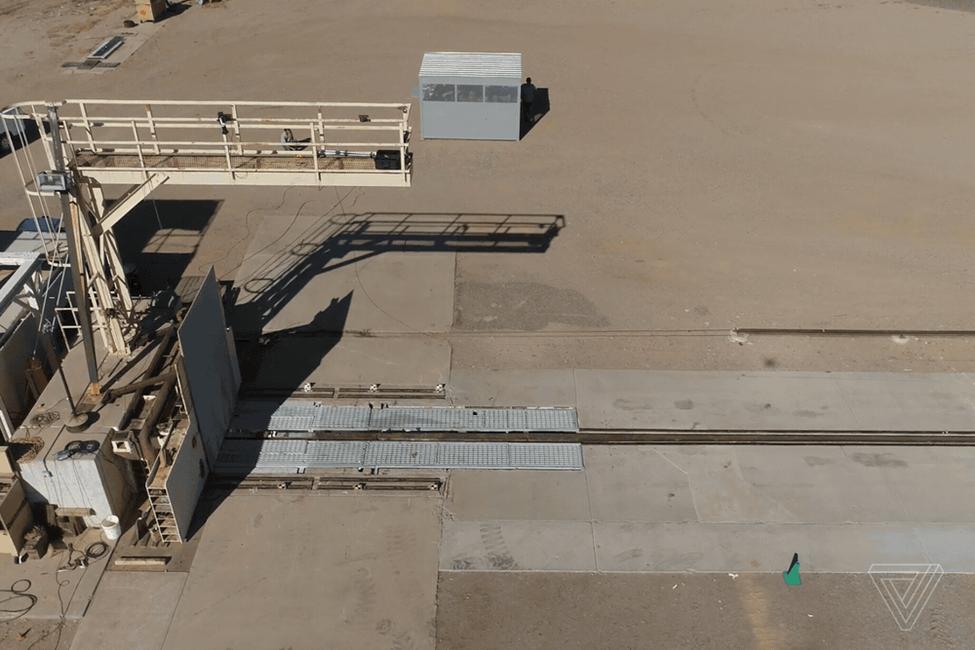 Bức tường kiểm tra va đập của xe được in 3D